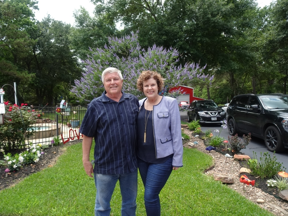 Dan and Cindy Boutwell own and operate Boutwell Properties, based in Cypress. (Danica Lloyd/Community Impact Newspaper)