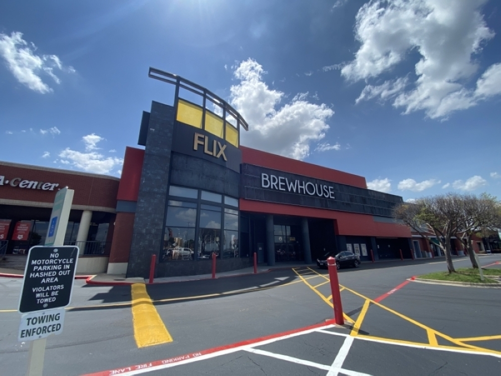 Flix Brewhouse was one of several businesses planned for the Co-Op District in Hutto. (Brooke Sjoberg/Community Impact Newspaper)