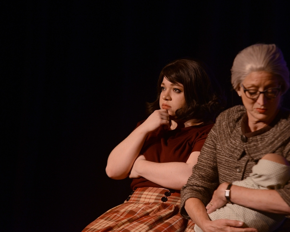 """""""Mama's Boy"""" was presented to a socially-distanced audience this spring. (Courtesy Stageworks Theatre)"""