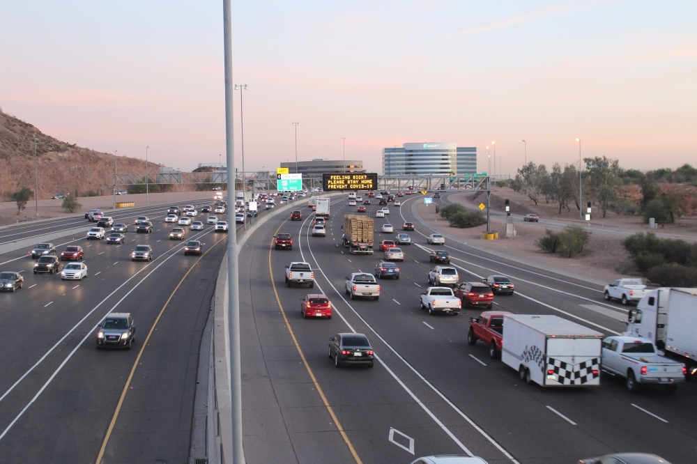 The freeway expansion project will occur across 11 miles of east- and westbound I-19 between Loop 202 and I-17, including the Broadway Curve between Baseline Road and 40th Street. (Tom Blodgett/Community Impact Newspaper)