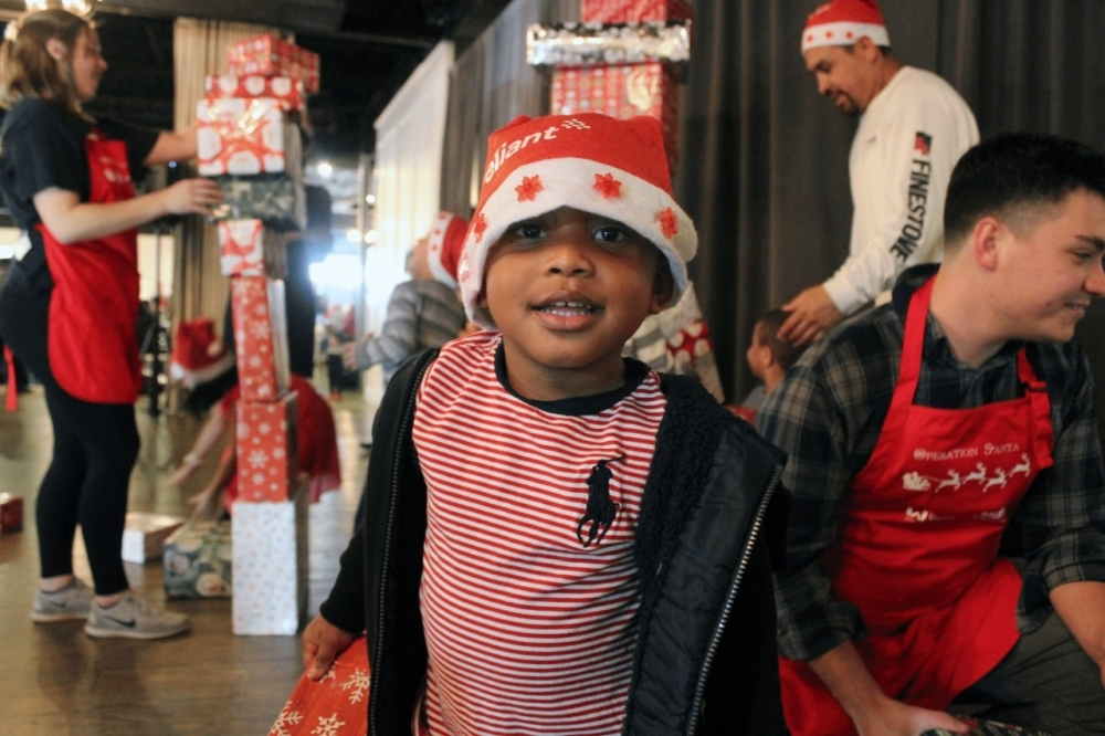 The toys will be distributed to children at the Warren Center's annual Operation Santa holiday party, which is in December. (Courtesy The Warren Center)