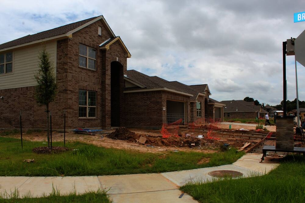 The city of Tomball is seeing an uptick in residential construction with hundreds of acres of land cleared for new communities. Alexander Estates is one of the communities under construction. (Anna Lotz/Community Impact Newspaper)
