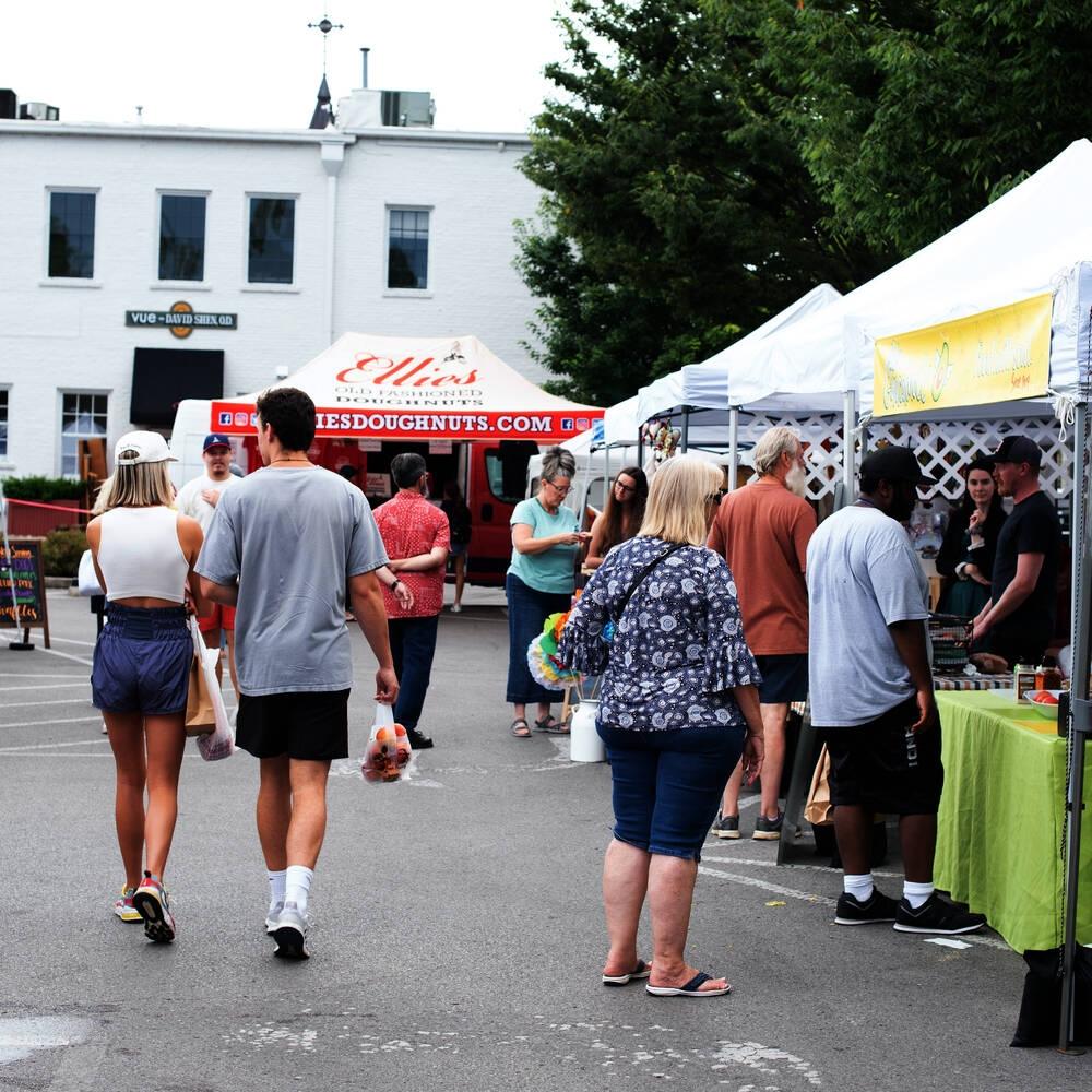 The Five Points Franklin Market is open Tuesdays in downtown Franklin. (Courtesy Five Points Franklin Market)