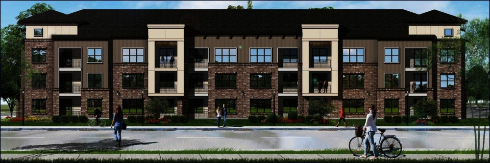 Venterra Realty will be breaking ground on a new apartment complex in Cy-Fair. (Rendering courtesy Venterra Realty)