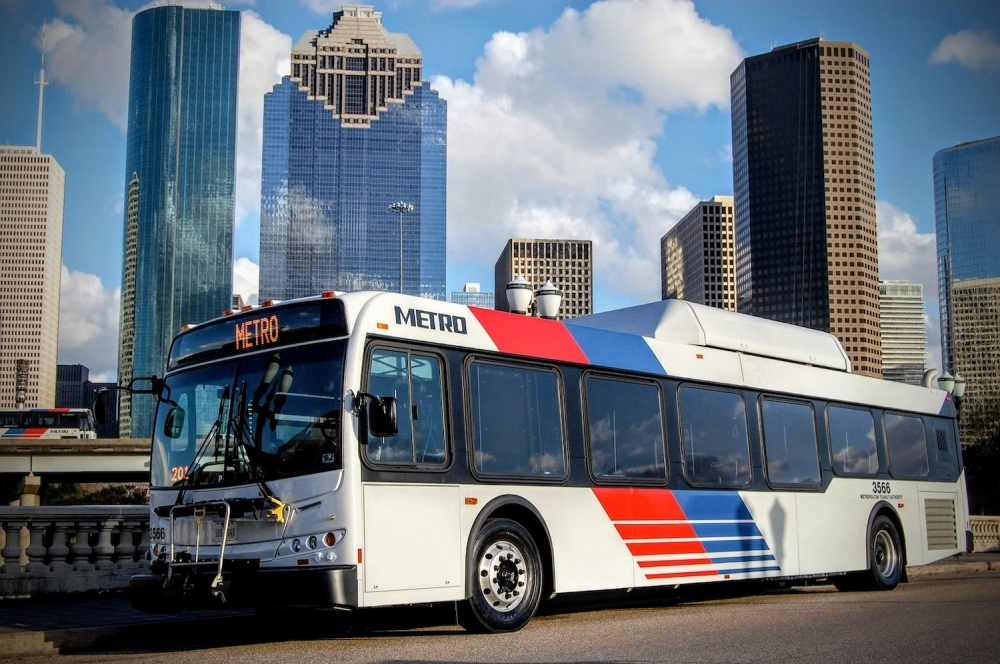 Tom Lambert, the Metropolitan Transit Authority of Harris County, delivered a presentation at an August North Houston Association meeting about the plan's progress and future  (Courtesy METRO)