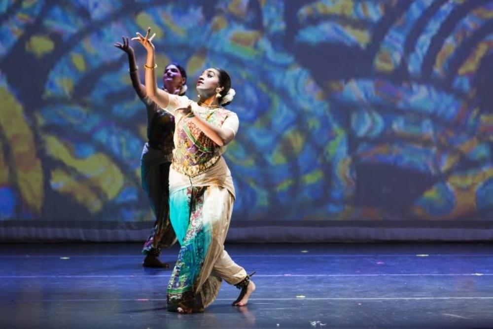 "Indian Performing Arts Samskriti presents ""Incredible India—Bhoomi"" at 8:30 p.m. on Aug. 20 at the Miller Outdoor Theatre. (Courtesy Miller Outdoor Theatre)"
