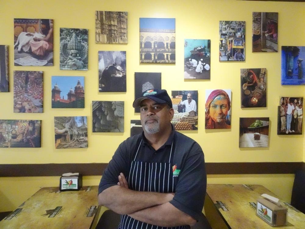 General Manager Chirag Patel opened Mirch Masala in 2011. (Emily Jaroszewski/Community Impact Newspaper)