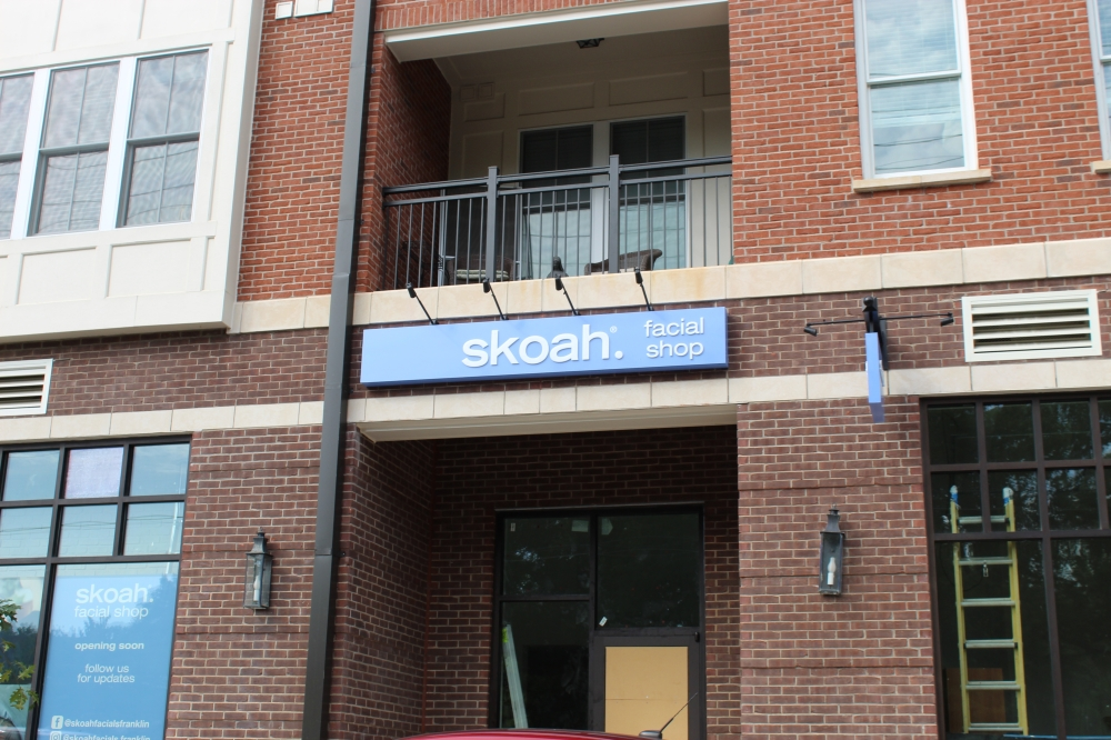 Skoah Facials will open a new location in Franklin in September. (Wendy Sturges/Community Impact Newspaper)