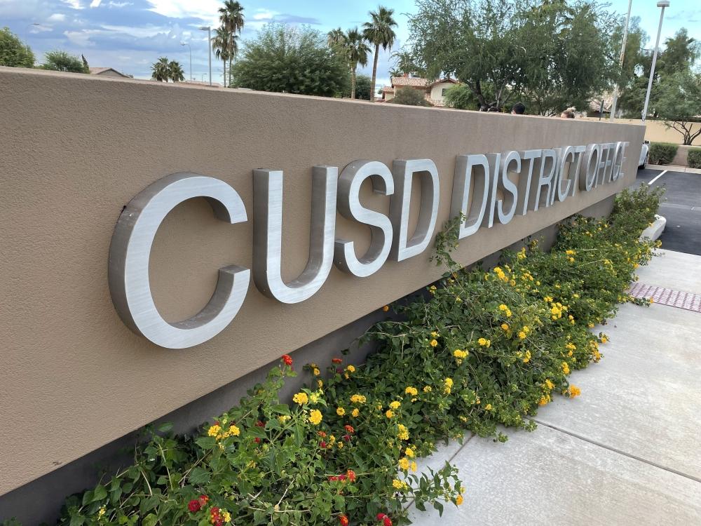 Chandler USD's headquarters is in Chandler. (Alexa D'Angelo/Community Impact Newspaper)