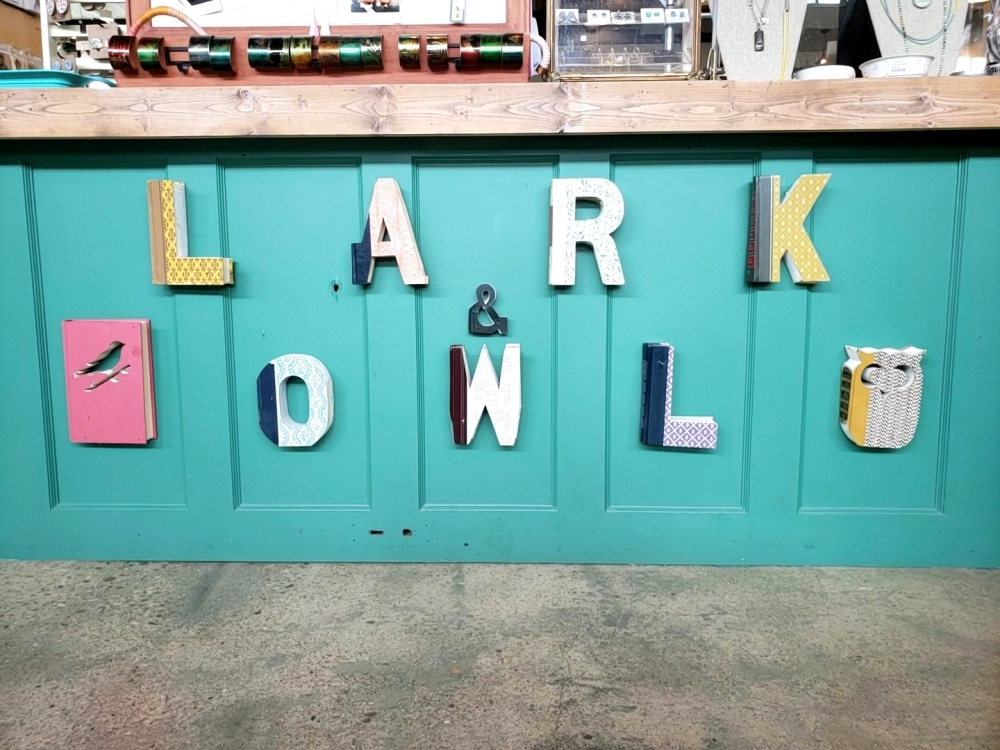 Lark & Owl Booksellers opened in 2019. (Ali Linan/Community Impact Newspaper)