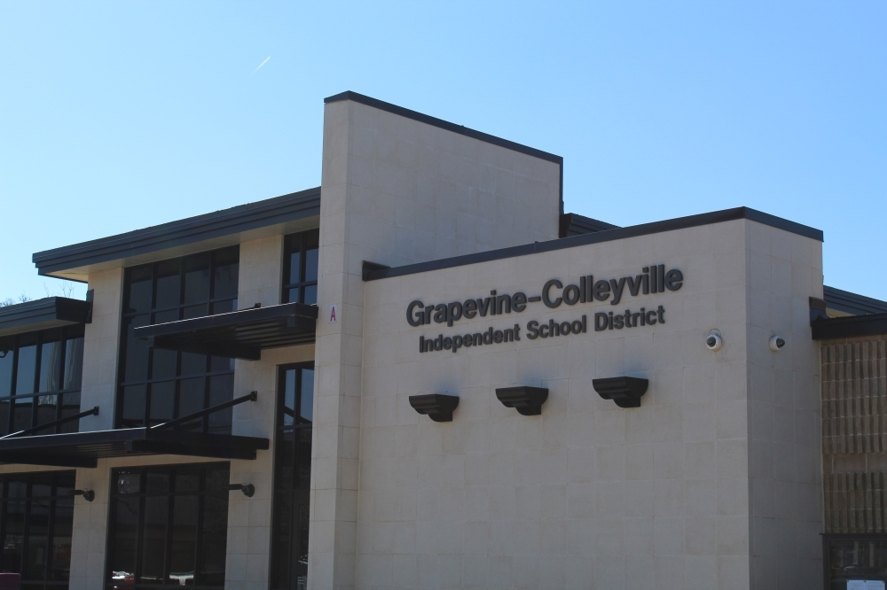 The Grapevine-Colleyville ISD board of trustees will vote on its proposed total tax rate of $1.2501 per $100 valuation at its next meeting Sept. 27. (Kira Lovell/Community Impact Newspaper)