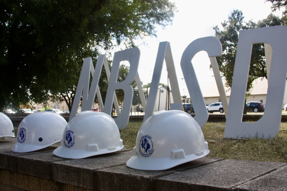 The new school is slated to open in August 2023. (Lauren Canterberry/Community Impact Newspaper)