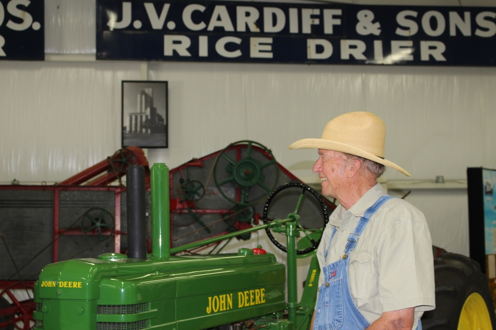 Katy resident Stanley Short discovered the Model B John Deere tractor in 2010 and began a six-year restoration project. (Rynd Morgan/Community Impact Newspaper)