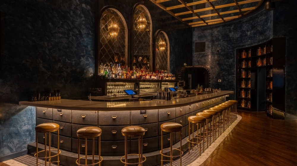 A new speakeasy cocktail lounge, The Parlour, is now open in Frisco. (Courtesy Luke Asper, Asper Studios)