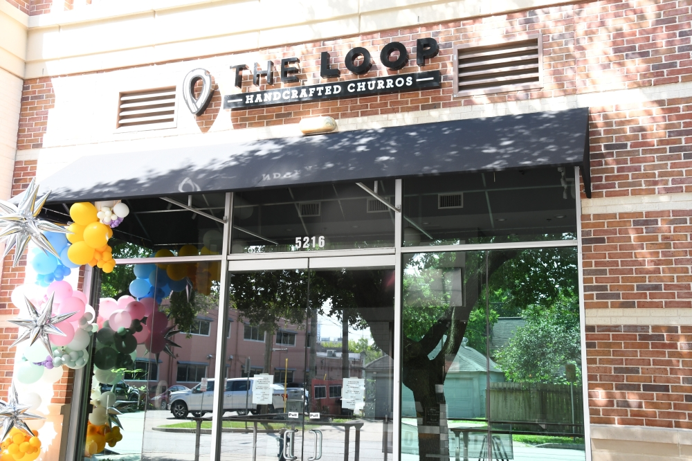The Loop: Handcrafted Churros is now open and operating in Rice Village. (Hunter Marrow/Community Impact Newspaper)