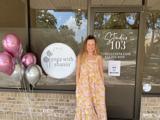 Studio 103 and Yoga With Shanin' owner Shanin' Smith