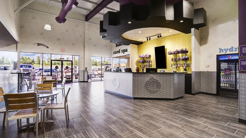 Located in a former Brookshire Brothers, the new workout facility officially opened July 23, and features state-of-the-art amenities and a slate of strength and cardio equipment.(Courtesy Planet Fitness)