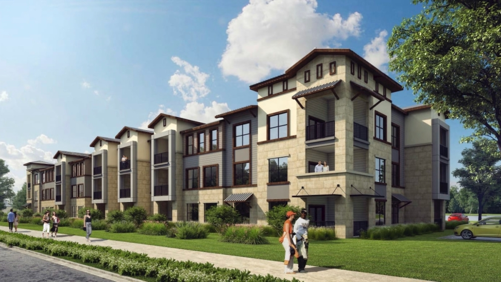 The Emory will offer studio, one- and two-bedroom apartments. (Courtesy The Emory)