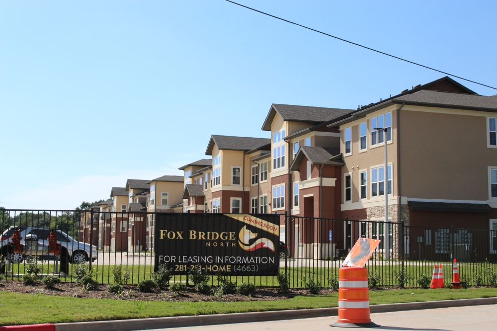 Construction of the complex began in January 2020, and final renovations will wrap up by Nov. 30. (Emily Lincke/Community Impact Newspaper)