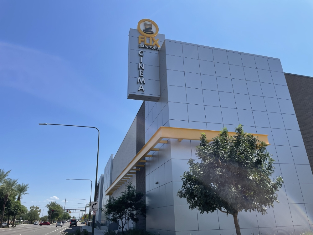 A new tenant will take over the space left vacant by Flix Brewhouse in downtown Chandler. (Alexa D'Angelo/Community Impact Newspaper)
