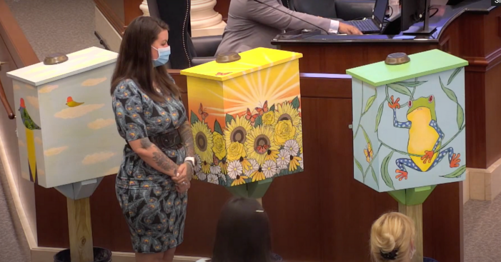 Decorative mental health resources now installed throughout Sugar Land