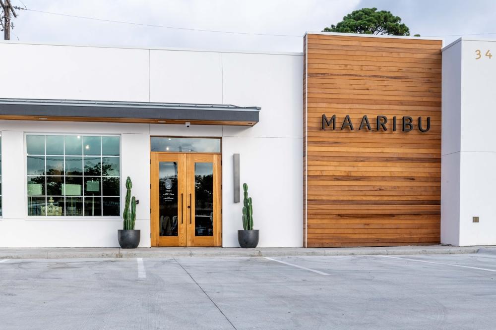 Photo of the Maaribu showroom