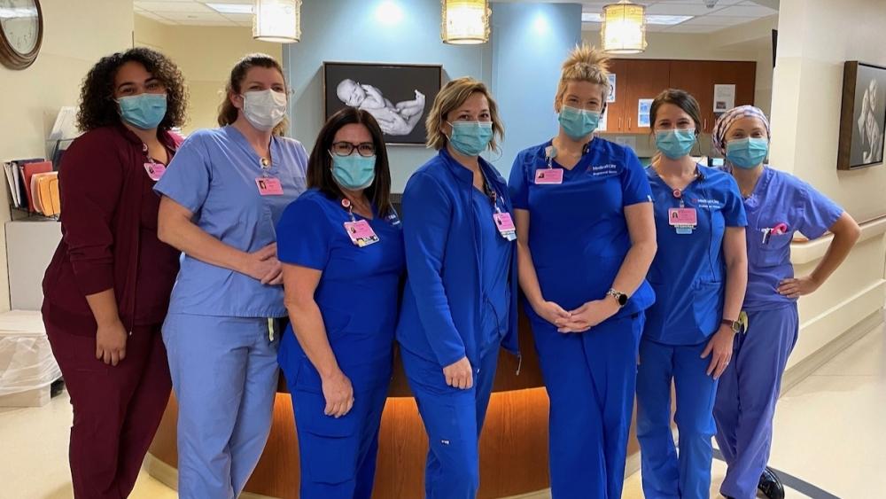 The Healthgrades award recognized superior performance in Medical City McKinney among national hospitals. (Courtesy Medical City McKinney)