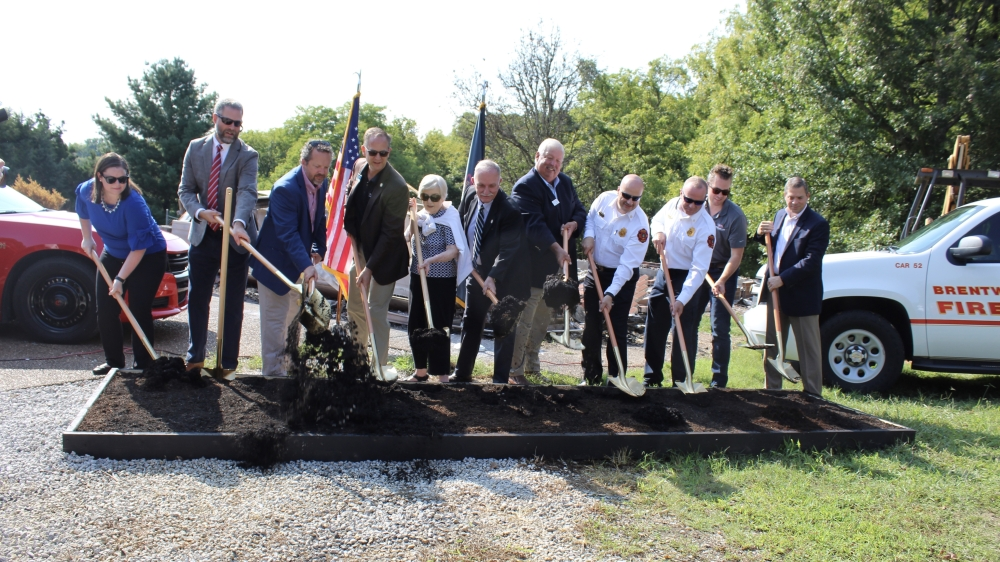 The city of Brentwood hosted a groundbreaking ceremony Sept. 10. (Wendy Sturges/Community Impact Newspaper)