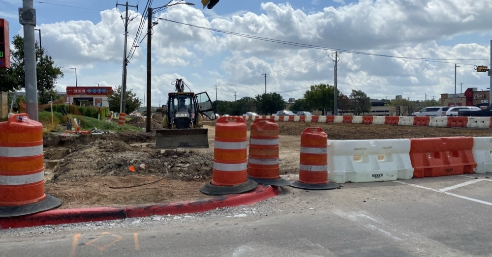 The intersections of Red Bud Lane, Egger Avenue, Sunrise Road and Georgetown Street will be undergoing maintenance work, with the Round Rock Police Department providing traffic direction in some cases, according to the city.(Brooke Sjoberg/Community Impact Newspaper)