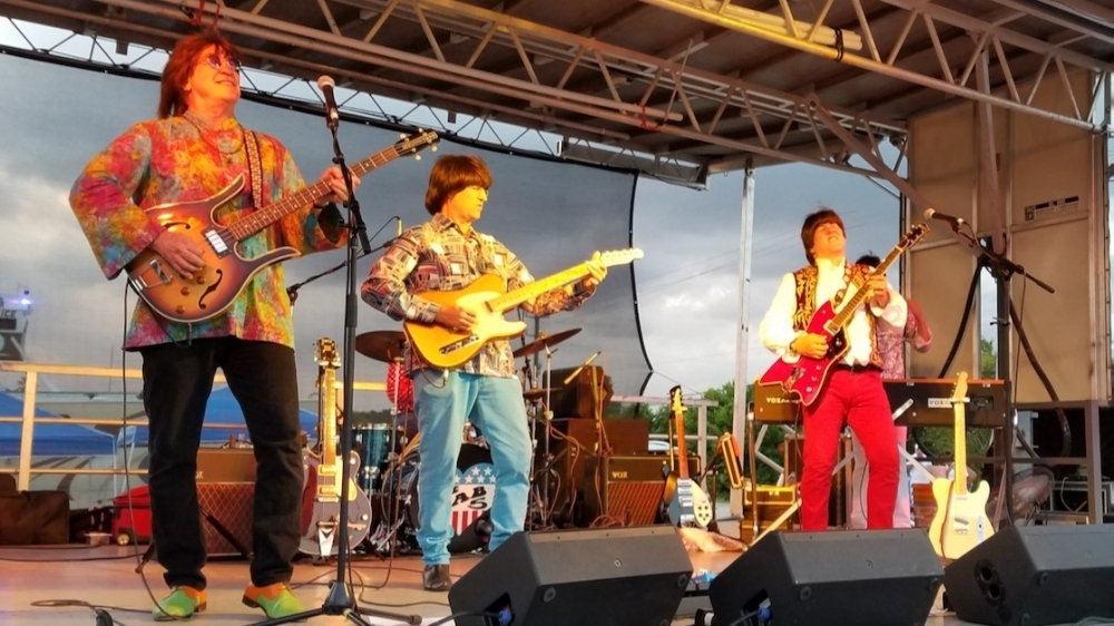 The Fab 5, a Beatles tribute band, will be playing live music at Tomball's annual GroovFest on Sept. 18. (Photo courtesy Mike Baxter/City of Tomball)