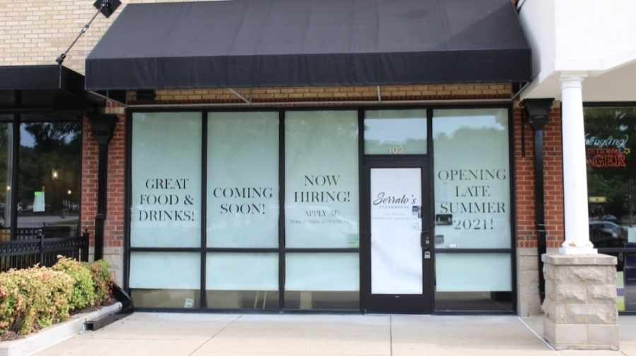 Serrato's Steakhouse is slated to open soon in Franklin. (Wendy Sturges/Community Impact Newspaper)