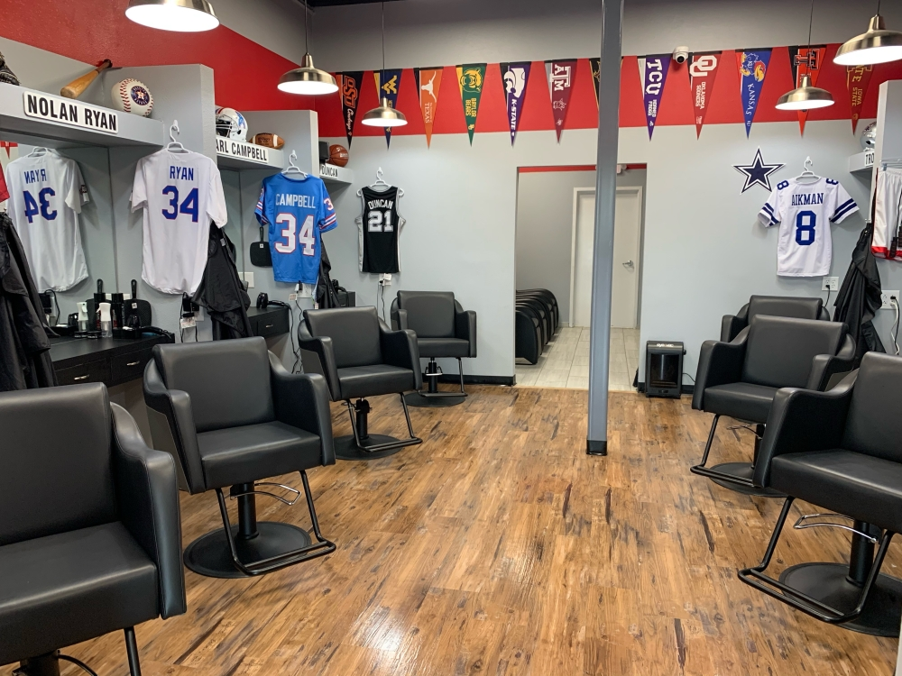 Locker Room Haircuts opened a new location at 8900 South Congress Ave. in July. (Courtesy Locker Room Haircuts)