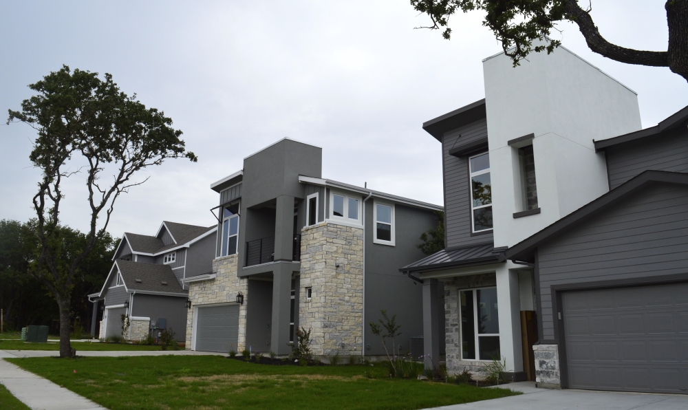 New homes in North Austin