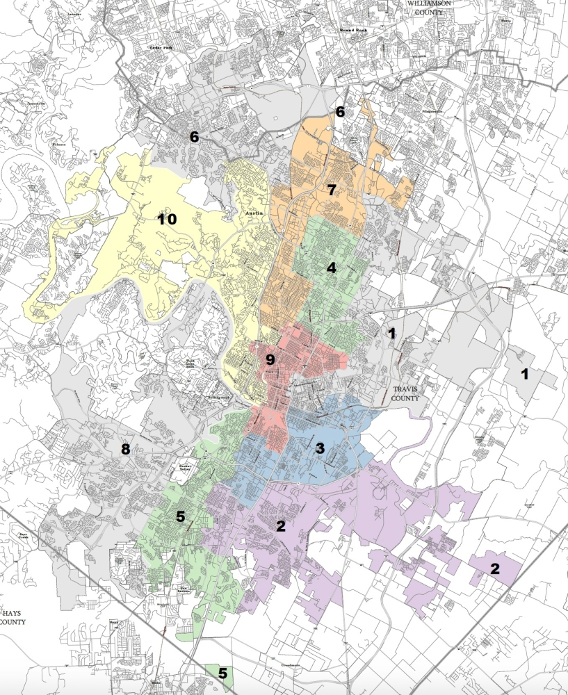The newly-approved draft map will be subject to several more weeks of community review and commission revision before a final version is set. (Courtesy Independent Citizens Redistricting Commission)