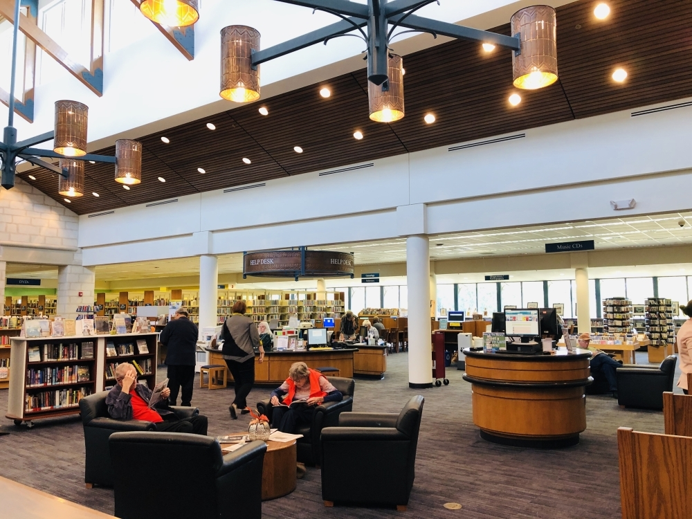 Until funding for the full expansion can be found, library staff will focus on reconfiguring the existing facility to better use the space. (Community Impact Newspaper staff)
