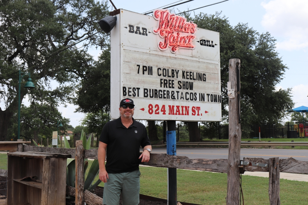 Greg Henry (pictured), Jeff Griffin and Greg Pratt Jr. opened Willie's Joint in 2013.