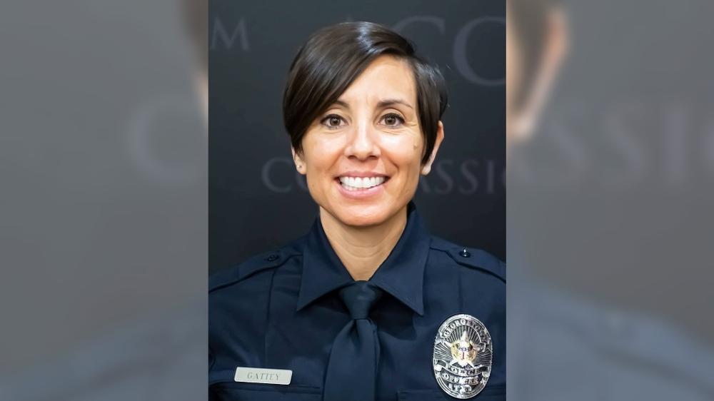 Georgetown Police officer Michelle Gattey (Courtesy Photo)