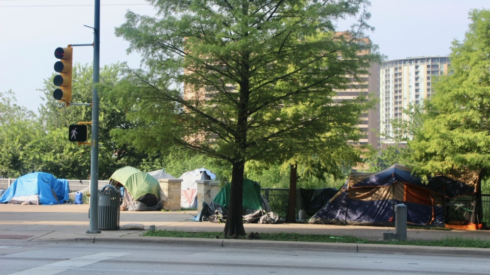 The city of Austin this summer cleared four unregulated homeless encampments and shifted dozens of residents into shelters. (Ben Thompson/Community Impact Newspaper)