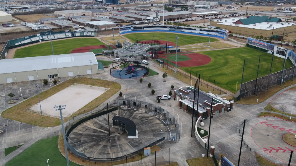 Big League Dreams will reopen in December with updated turf, seating, nets, fencing, graphics and other upgrades. (Courtesy city of League City)