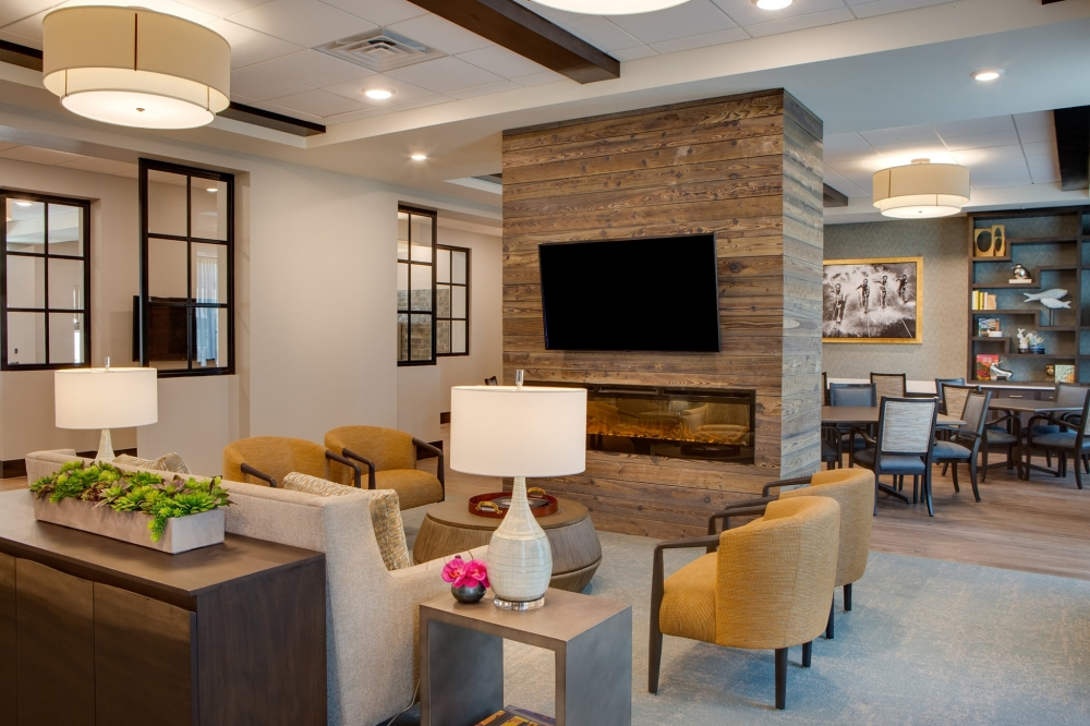 The $45 million development Fountainwood at Lake Houston opened assisted-living and memory care residential units in mid-July. (Courtesy Fountainwood at Lake Houston)