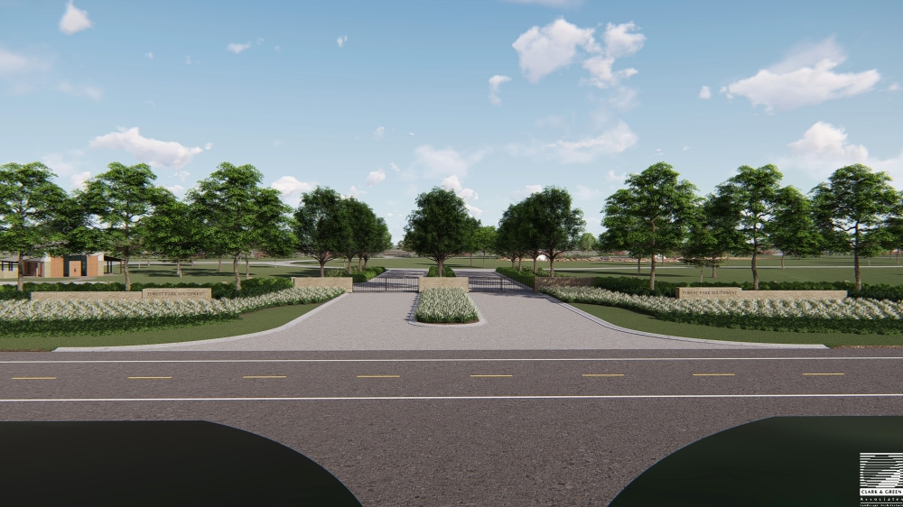 Forest Park Southwest Cemetery will open in west Houston in late spring 2022. (Courtesy Service Corporation International)