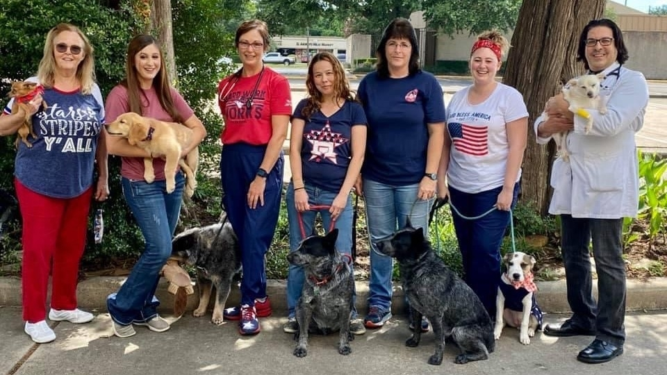 Tomball Animal Hospital will celebrate its 50th anniversary in October at 802 W. Main St., Tomball. (Courtesy Tomball Animal Hospital)