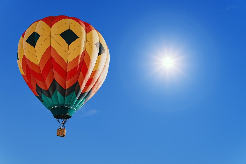 The balloon fest will feature approximately 17 hot air balloons. (Courtesy photo)