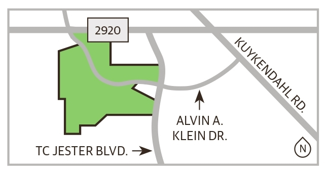 Located near the intersection of TC Jester Boulevard and Alvin A. Klein Drive, Windrose West comprises 961 single-family homes and is zoned to Klein ISD. (Ronald Winters/Community Impact Newspaper)