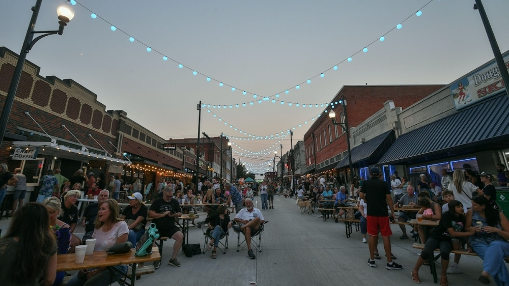 The city of McKinney held a completion celebration for the Light Up Louisiana project Sept. 10. (Courtesy Azure Photography)