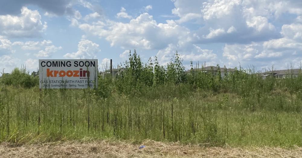 Kroozin Market will begin construction this fall. (Ally Bolender/Community Impact Newspaper)