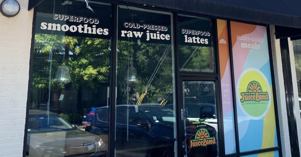The Austin-based juice, smoothie and coffee chain was founded in 2011 by Matt Shook and has since expanded to 33 locations and counting in Dallas, Austin and Houston. (Courtesy Juiceland)