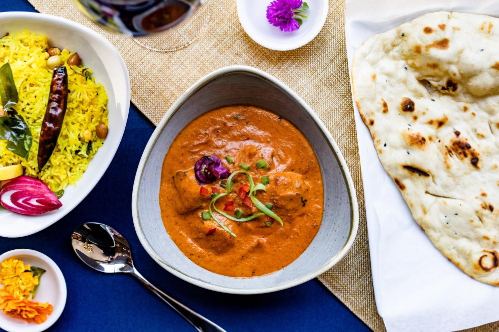 Indian restaurant Mahesh's Kitchen opened Sept. 10 in Sugar Land Town Square. (Courtesy Kirsten Gilliam/Mahesh's Kitchen)