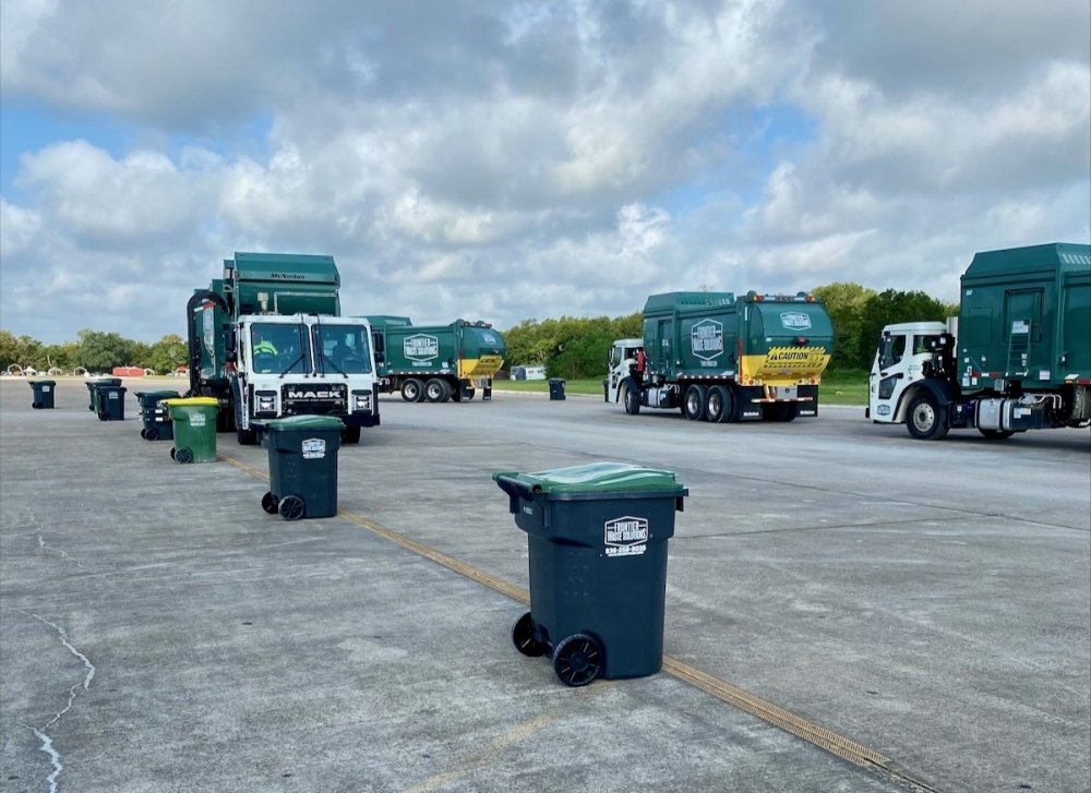 Frontier Waste Solutions on Oct. 1 will begin service as Pearland's waste provider. (Courtesy city of Pearland)