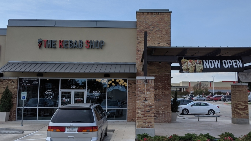 The Kebab Shop is now serving Mediterranean food out of Pflugerville's Stone Hill Town Center. (Carson Ganong/Community Impact Newspaper)